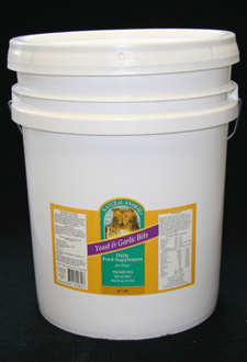 Yeast & Garlic Bits For Dogs 35lbs
